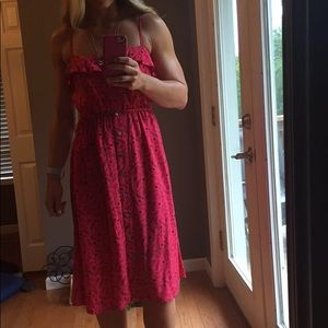 Red dress by universal threads, Target